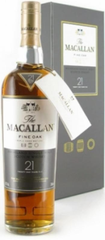 Macallan Fine Oak 21 Years Old, with box