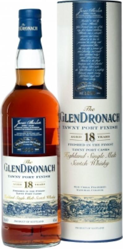 "Glendronach ""Tawny Port Finish"", 18 years old, in tube"