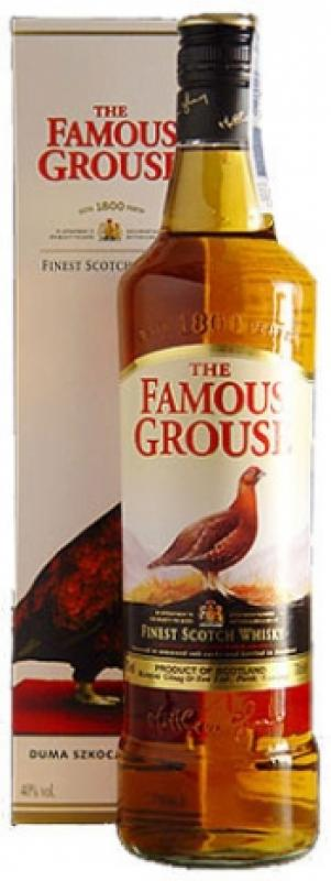 "The Famous Grouse"" Finest, with metal box"
