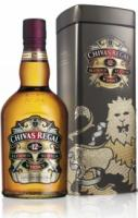 Chivas Regal 12 years old, metal box