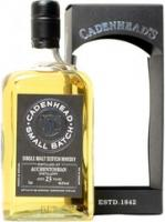 "Cadenhead, ""Auchentoshan"" 23 Years Old, gift box"