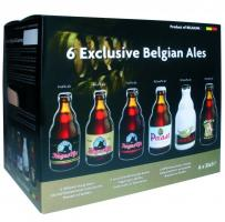 """Exclusive Belgian Ales"", gift set (6 bottles) new"