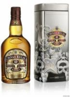 Chivas Regal 12 years old, with New Year metal box