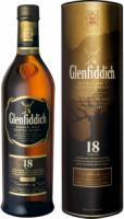 Glenfiddich 18 Years Old, in tube