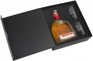 """Gran Orendain"" Reposado, gift box with 2 glasses"