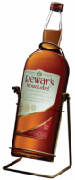 "Dewar's ""White Label"", with cradle"