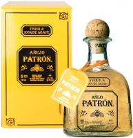 """Patron"" Anejo, metal box"