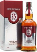 Springbank 25 Years Old, gift box