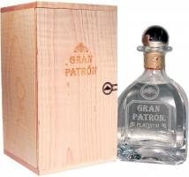 """Gran Patron"" Platinum, wooden box"
