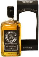 "Cadenhead, ""Glen Moray-Glenlivet"" 22 Years Old, gift box"