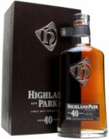 Highland Park 40 Year Old, gift box,