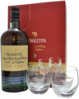 Singleton of Dufftown, 12 Year Old, gift box with 2 glasses