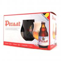 """Piraat"", gift set (6 bottles & glass)"