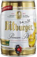 """Bitburger"" Premium Pils, mini keg"