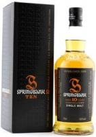 Springbank 10 years old, gift box