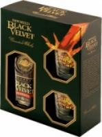 Black Velvet Reserve 8 years, gift box with 2 glasses