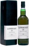 Laphroaig Malt 15 years old, with box