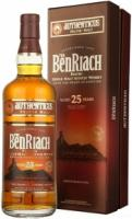 """Benriach, """"Authenticus"""" Peated, 25 Years Old, gift box"""