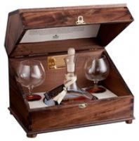 """Dali"", Grappa di Barbera invecchiata, gift set with 2 glasses"