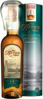 Arran 14 years, gift tube with glass