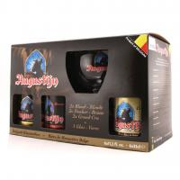 """Augustijn"", gift set (6 bottles & glass)"