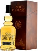 Old Pulteney 30 Years Old, wooden box